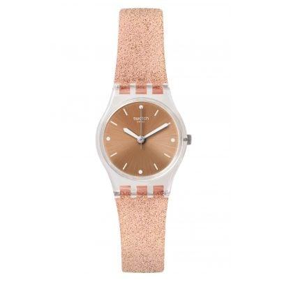 Swatch LK354D Ladies' Watch Pinkindescent Too 7610522784253