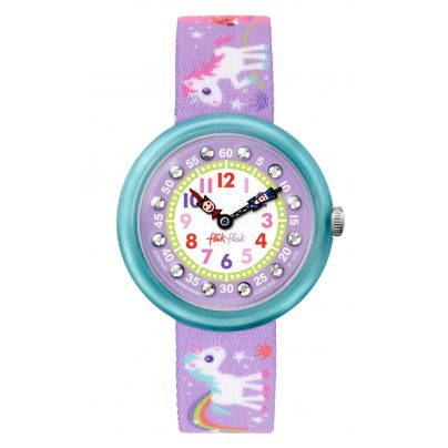 Flik Flak FBNP033 Magical Unicorns Mädchenuhr 7610522532458