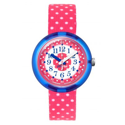 Flik Flak FPNP012 Pink Crumble Kids Watch 7610522534636