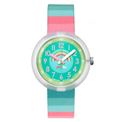 Flik Flak FPNP014 Stripy Streams Watch for Girls 7610522534650
