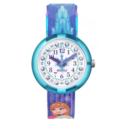 Flik Flak FLNP027 Girls Watch Frozen Elsa & Anna 7610522774520
