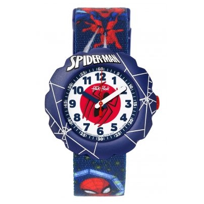 Flik Flak FLSP012 Kinderuhr Spider-Man In Action 7610522774544