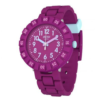 Flik Flak FCSP089 Kinderuhr Solo Purple 7610522795716