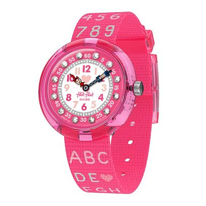 Flik Flak FBNP133 Girls' Watch Pink AB34 7610522807464