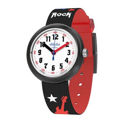 Flik Flak FPNP051 Kinderuhr Let's Rock 7610522807549