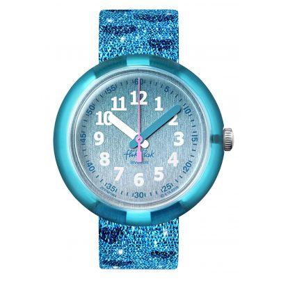 Flik Flak FPNP064 Kinderuhr Turquoise Sparkle 7610522820029