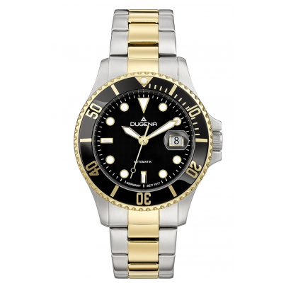 Dugena 4460776 Diver Automatik Taucheruhr für Herren 4050645022611