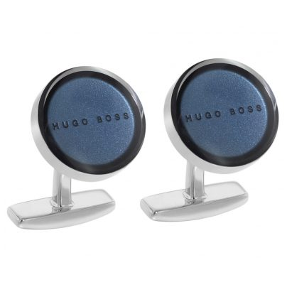 Boss 50403072-410 Cufflinks Giles Navy 4029049381426