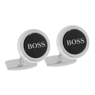 Boss 50412385 Manschettenknöpfe Smith Schwarz 4029052143899
