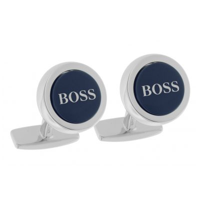 Boss 50412385-410 Manschettenknöpfe Smith Blau 4029052143905