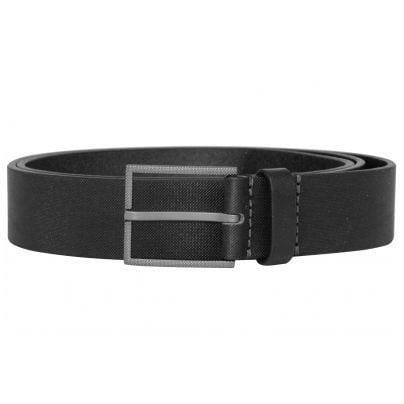 Boss 50413090-001 Men's Leather Belt Trilos Black