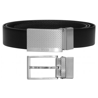 Boss 50424653-202 Men's Reversible Belt Giole Black/Dark Brown 4029055613351