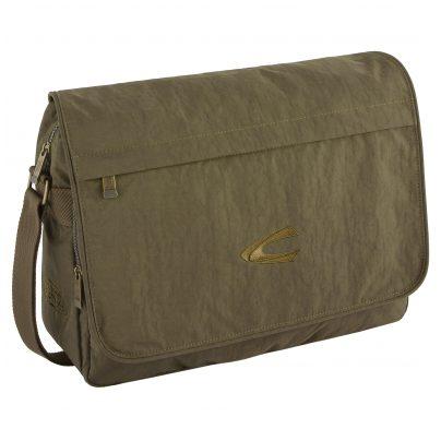 camel active B00-915-35 Messenger-Tasche mit Laptopfach Journey Khaki 4251234417744