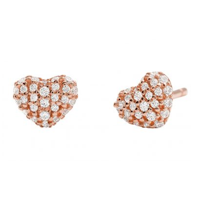 Michael Kors MKC1119AN791 Ladies' Stud Earrings Love 4013496009088