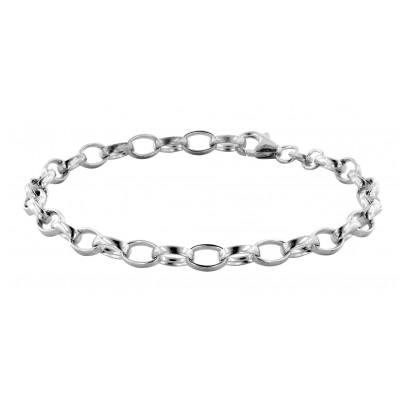 trendor 63041 Silber Charms Damen-Armband 4260227763041