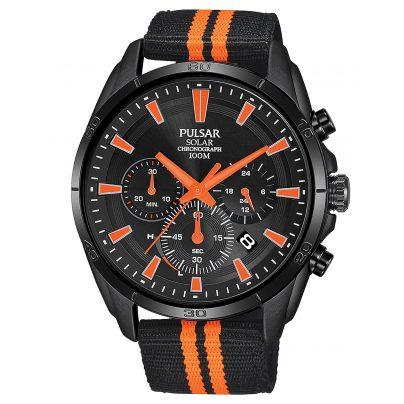 Pulsar PZ5093X1 Solar-Herrenarmbanduhr Chronograph Sport 4894138038167