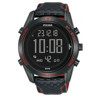 Pulsar P5A039X1 Herrenuhr Digital Chronograph Rally 4894138039164