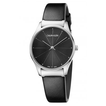 CALVIN KLEIN K4D221CY Damen-Armbanduhr Classic medium 7612635119564