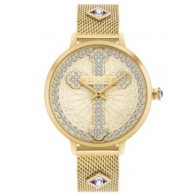 Police PL16031MSG.22MMA Armbanduhr für Damen Socotra 4895220917377