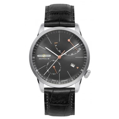 Zeppelin 7366-2 Flatline Mens Automatic Watch 4041338736625