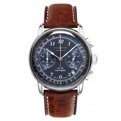 Zeppelin 7614-3 Herren-Chronograph LZ126 Los Angeles 4041338761436