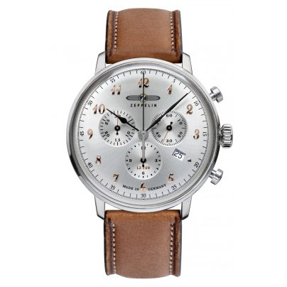 Zeppelin 7088-5 Mens Watch Chronograph LZ129 Hindenburg Ed. 1 4041338708851