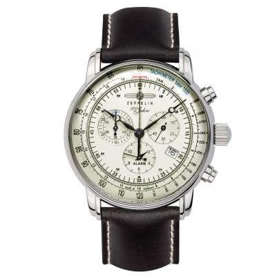 Zeppelin 8680-3 Alarm-Herrenchronograph 100 Jahre Zeppelin 4041338868036
