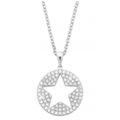 s.Oliver 2026091 Damen-Halskette aus Silber 4056867017114
