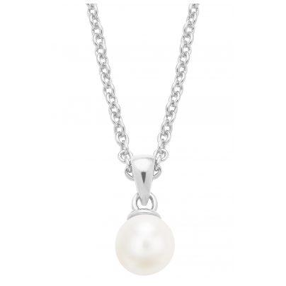 s.Oliver 2026132 Damen-Halskette mit Perle 4056867017466