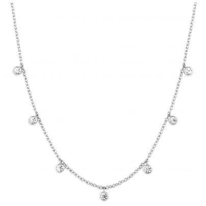 s.Oliver 2027837 Damen-Halskette Silber 4056867021975