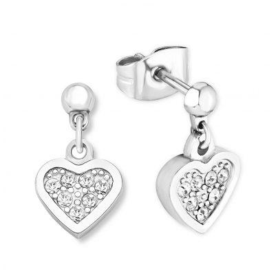 s.Oliver 2015003 Stud Earrings Heart 4056867002318