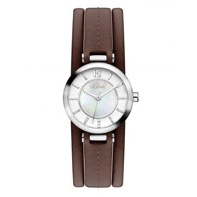 s.Oliver SO-3276-LQ Damen-Armbanduhr 4035608031381