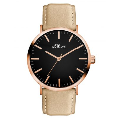 s.Oliver SO-3376-LQ Damen-Armbanduhr 4035608032449