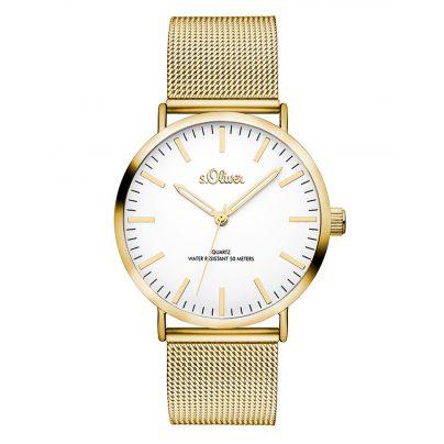 s.Oliver SO-3238-MQ Damen-Armbanduhr 4035608030995