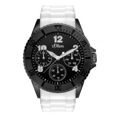 s.Oliver SO-3294-PM Herren-Armbanduhr mit Multifunktion 4035608031602