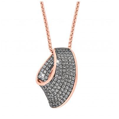 Joop 2023500 Silber Damen-Halskette Rosé 4056867013857