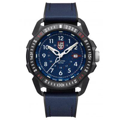 Luminox XL.1003.ICE Men's Watch Ice-SAR Arctic Rubber Strap WR 20 Bar Blue 7630040987462