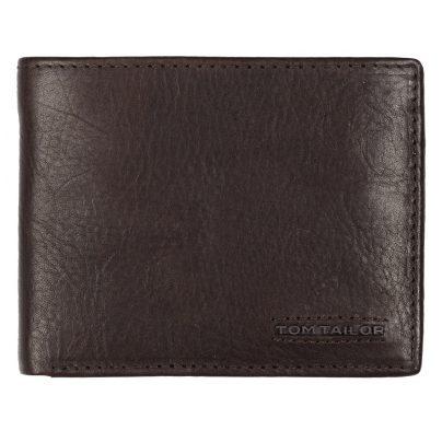 Tom Tailor 27311 Geldbörse Barry Leder Braun mit RFID Schutz 4251234459676