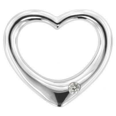 trendor 80272 Silber Durchziehherz 4260266580272