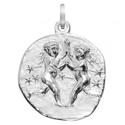 trendor 08458 Sternzeichen Zwilling 925 Silber 20 mm 4260497084587