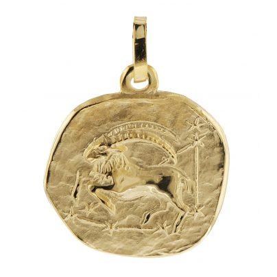 trendor 08725 Zodiac Pendant Capricorn Gold 333/8 ct 4260497087250
