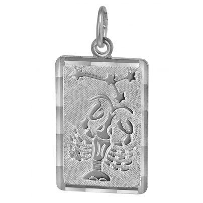 trendor 08743 Sternzeichen-Anhänger Krebs Silber 4260497087434