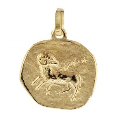 trendor 08961 Sternzeichen-Anhänger Widder 585 Gold 16 mm 4260497089612