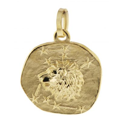 trendor 08965 Zodiac Pendant Leo Gold 585/14 ct 4260497089650