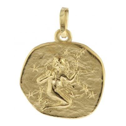 trendor 08966 Sternzeichen-Anhänger Jungfrau 585 Gold 16 mm 4260497089667