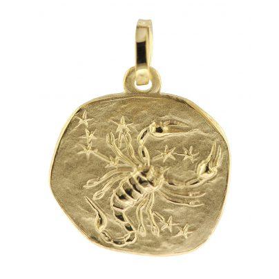 trendor 08968 Sternzeichen-Anhänger Skorpion 585 Gold 16 mm 4260497089681