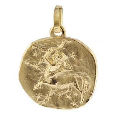 trendor 08969 Sternzeichen-Anhänger Schütze 585 Gold 16mm 4260497089698