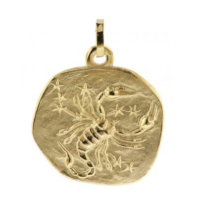 trendor 08992 Sternzeichen-Anhänger Skorpion 333 Gold 20 mm 4260497089926