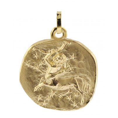 trendor 08993 Sternzeichen-Anhänger Schütze 333 Gold 20 mm 4260497089933
