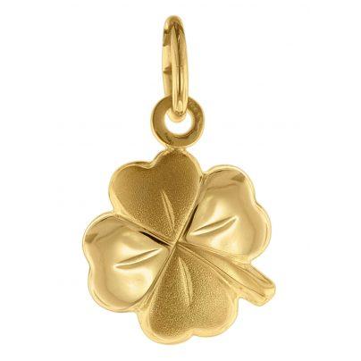 trendor 75620 Pendant Four-Leaf Clover Gold 333 / 8 Carat 4260641756209